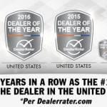 Porsche CA Dealer of the Year 2017