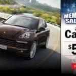 Porsche Memorial Day Sales Event Los Angeles
