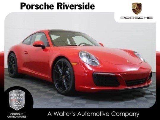 2017 Porsche 911 Lease Special