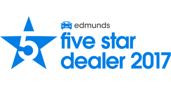 Walter's Porsche Edmunds Five Star Dealer award