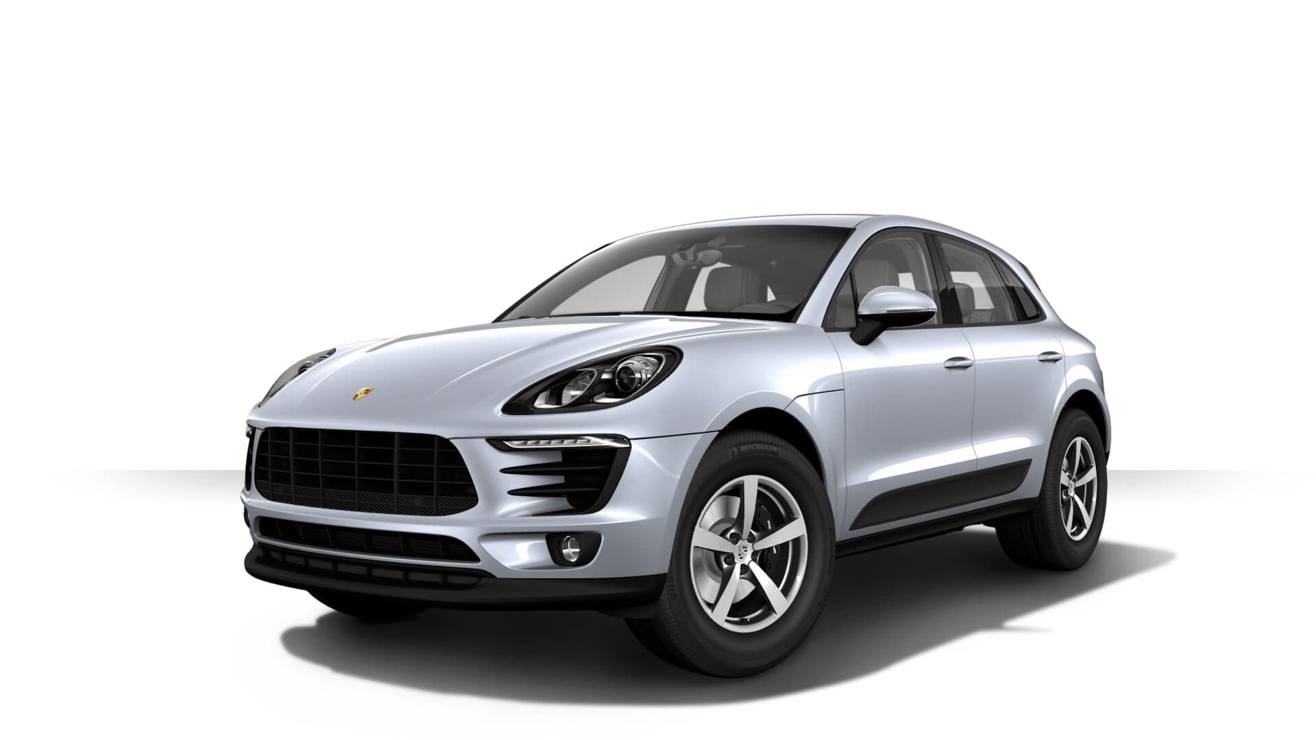 2018 Porsche Macan on white