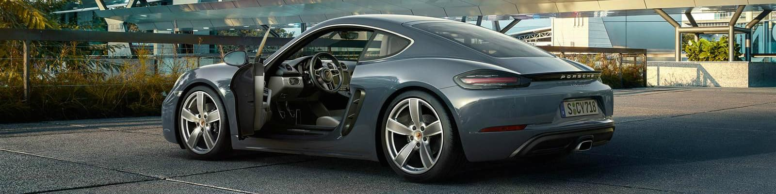 2018 Porsche 718 Cayman top