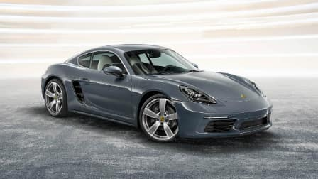 2017 Porsche 718 Cayman front end