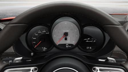 2017 Porsche 718 Boxster gauges