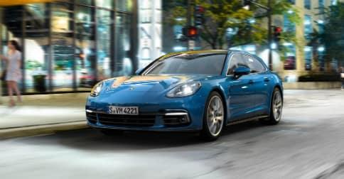 2018 Porsche Panamera in Sapphire Blue Metallic
