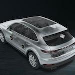 Porsche Cayenne sound system