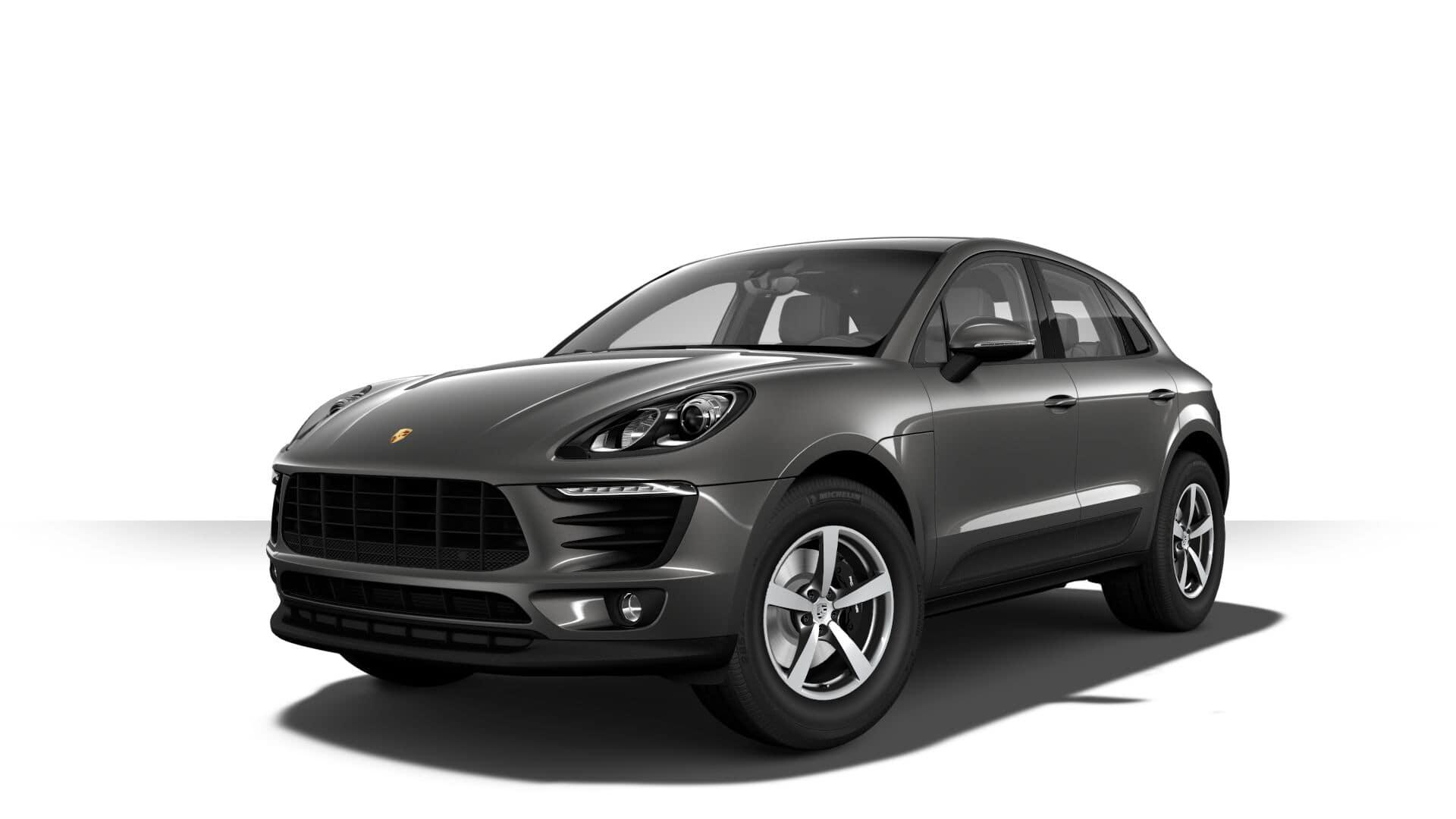 Porsche Macan Agate Grey Metallic