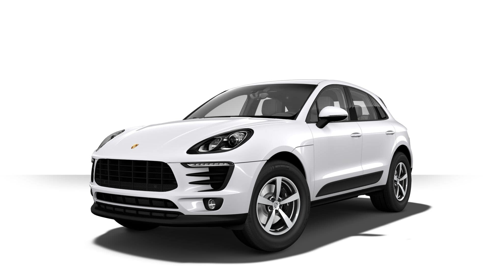 Porsche Macan Carrara White Metallic