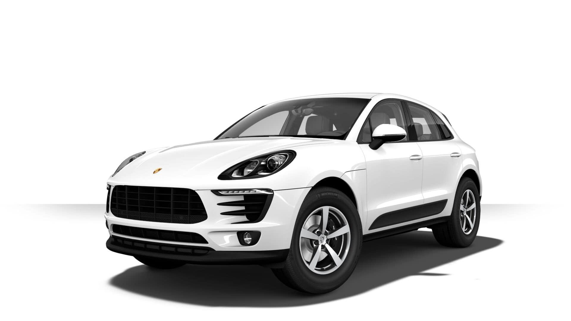 Porsche Macan White