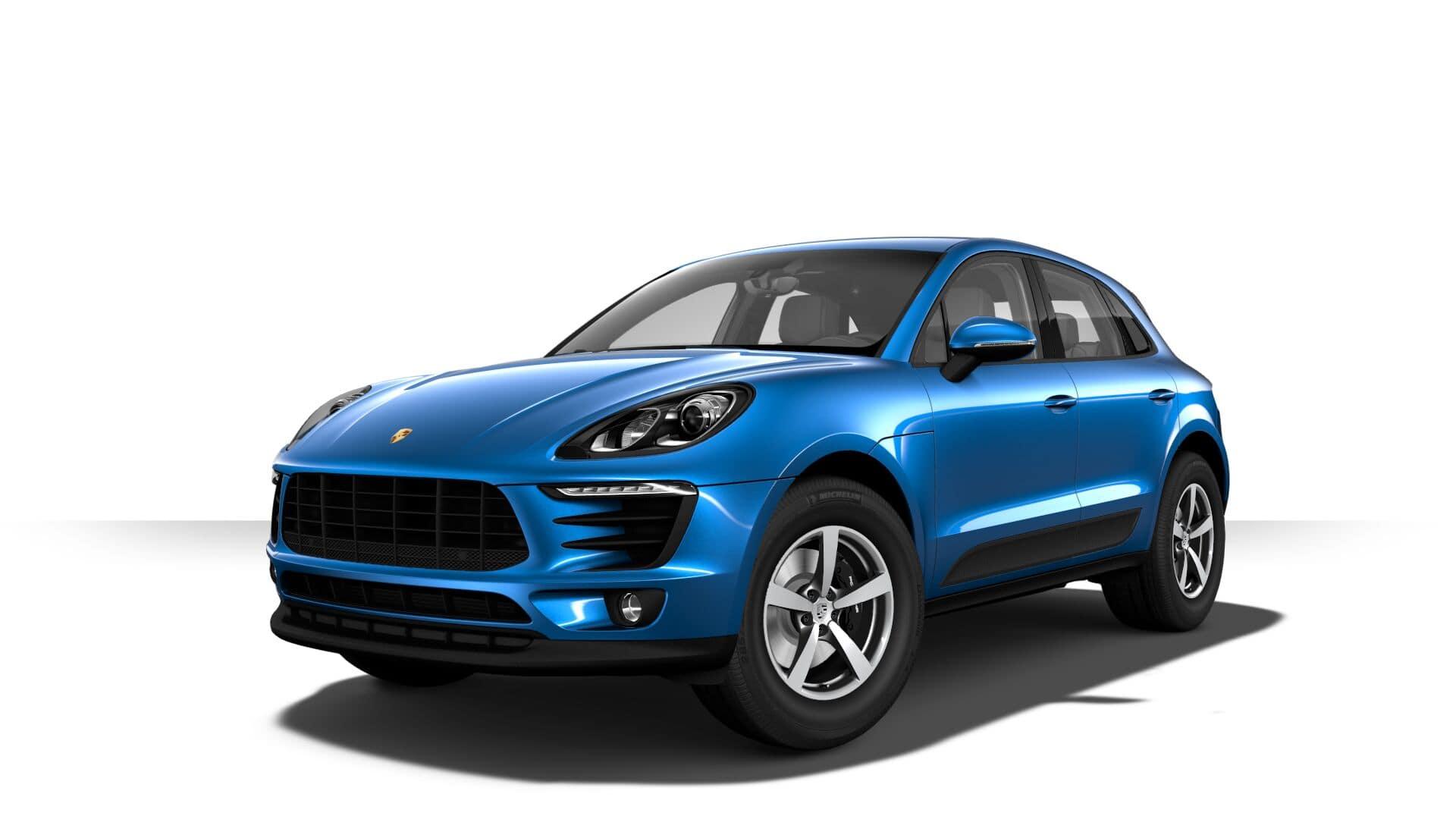 Porsche Macan Sapphire Blue Metallic