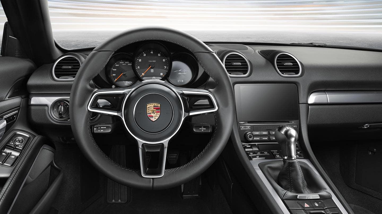 Porsche 718 Boxster interior