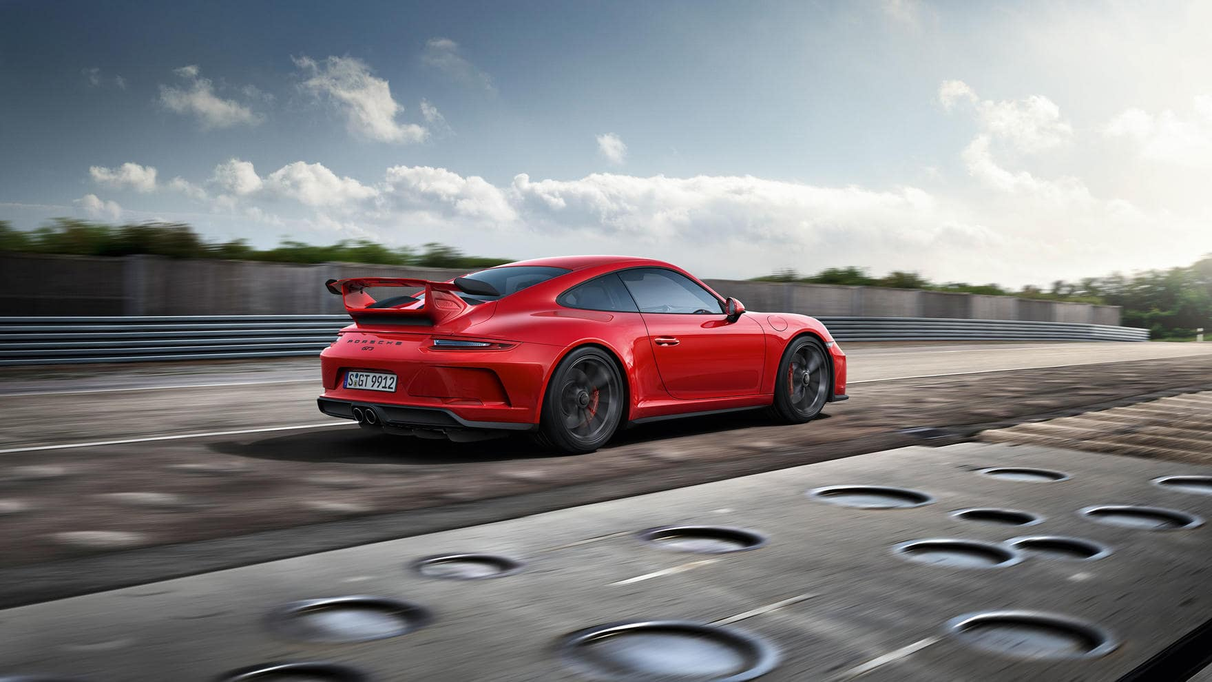 911 GT3 exterior