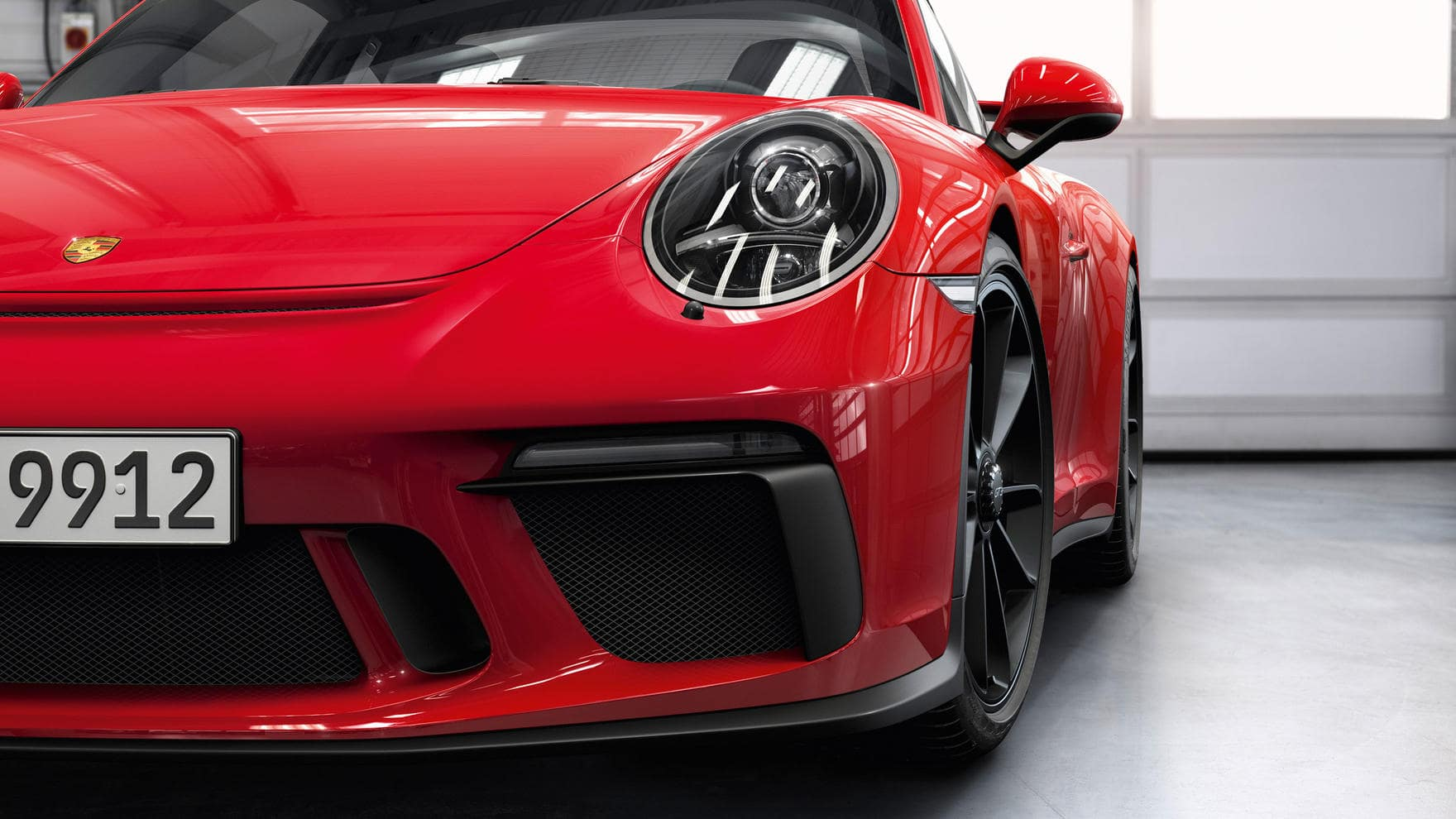 911 GT3 front