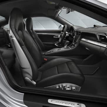 Porsche 911 Carrera seating