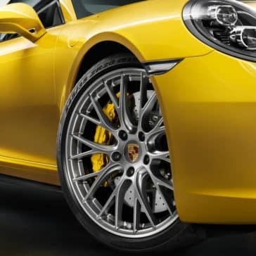Porsche 911 Carrera wheels