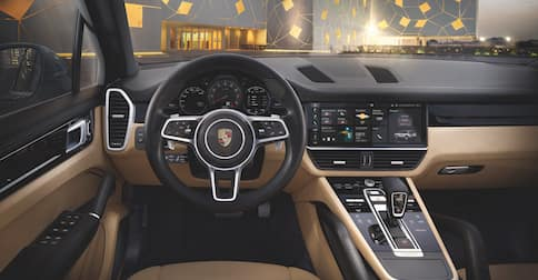 2019 Cayenne Interior Dashboard
