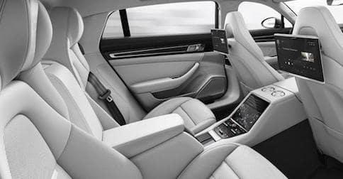Porsche Panamera Back Seat