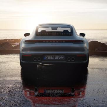 2020 Porsche 911 Carrera Rear