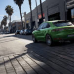 2020 Porsche Macan Rear Exterior