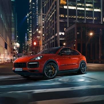 2020 Porsche Cayenne Coupe Front Exterior