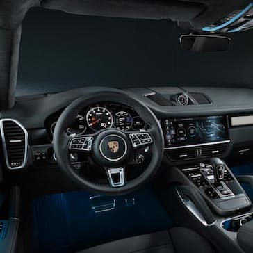 2020 Porsche Cayenne Coupe Steering Wheel and Instrument Cluster