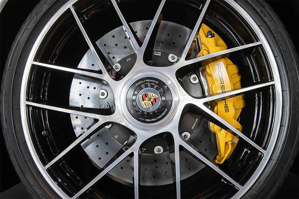 Porsche Wheel Detail