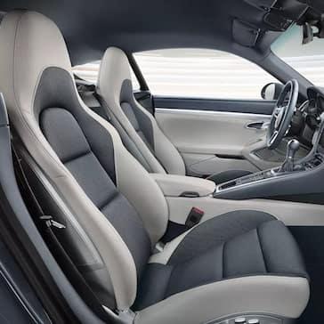 2020 Porsche 718 Cayman Interior