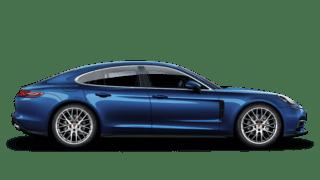 2020 Porsche Panamera 4S Side Exterior Profile