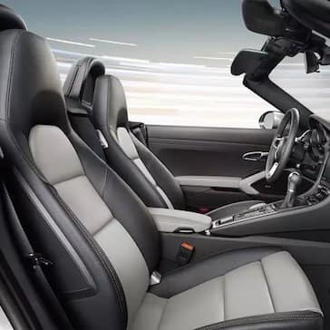 2020 Porsche 718 Boxster Interior