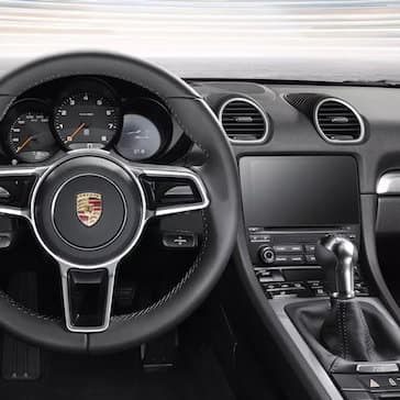 2020 Porsche 718 Boxster View From The Driver's Seat