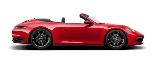 2021 Porsche 911 Carrera Cabriolet Exterior