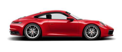 2021 Porsche Carrera Exterior