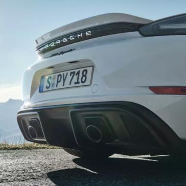 2021 Porsche 718 Spyder Rear