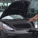 2021 Porsche 718 Boxster Luggage Compartment