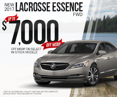 New Buick LaCrosse Special