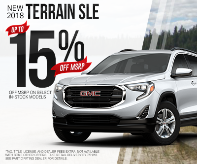 New GMC Terrain Special