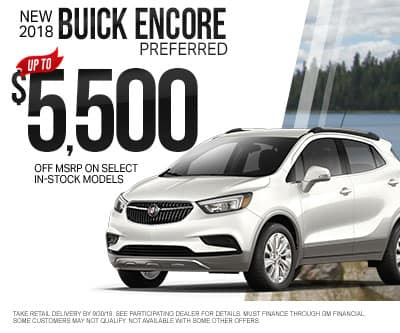 New Buick Encore Special