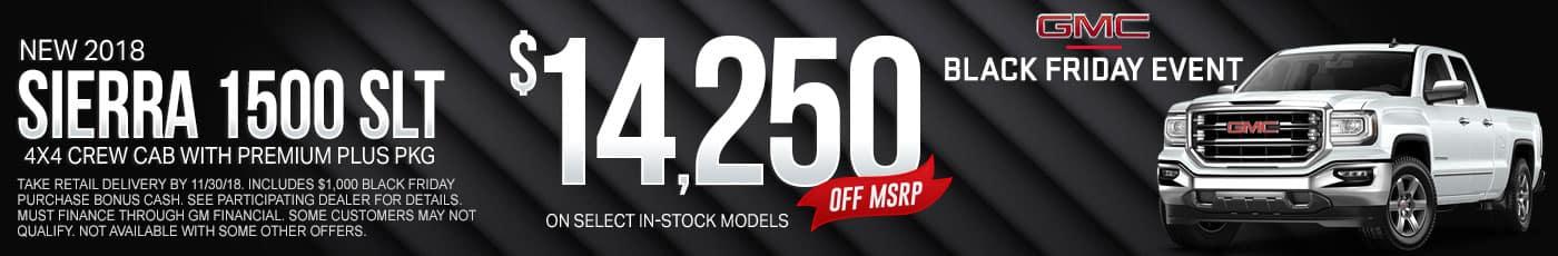 New GMC Sierra 1500 SLT Special