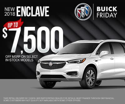 New Buick Enclave Special