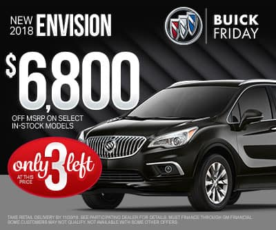 New Buick Envision Special