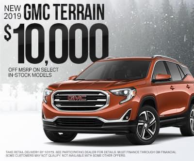 New GMC Terrain Special