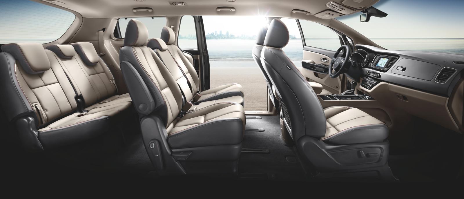 minivan sedona passenger kia in van roseville fwd new inventory sxl