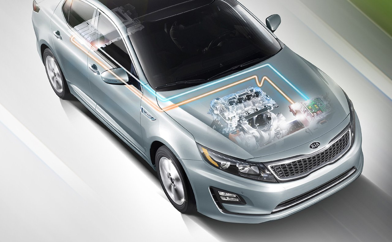 test kia chris expert drive optima chase hybrid of review
