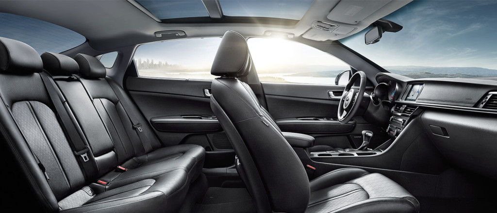 Enjoy Every Trip In The 2017 Kia Optima Interior