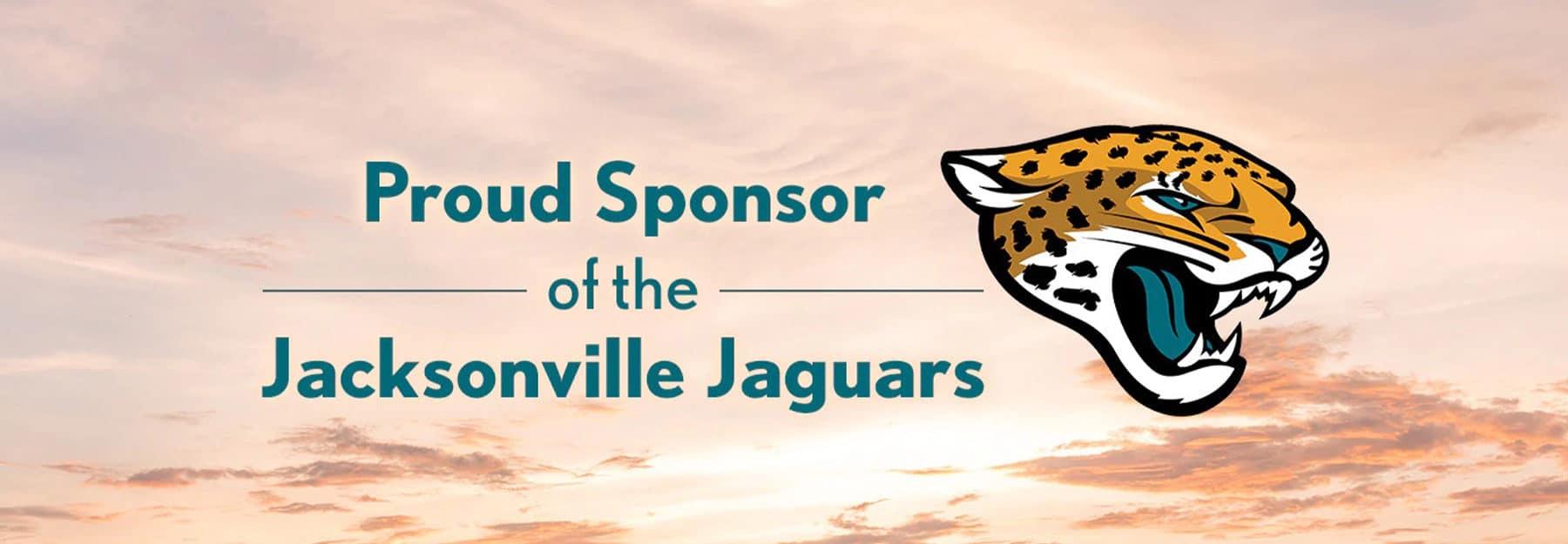 Jacksonville Jaguars Proud Sponsor
